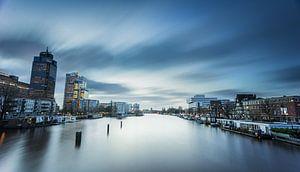 Blue Amsterdam van