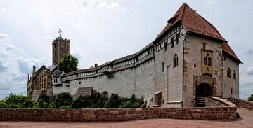 De Wartburg in Eisenach van Wil van der Velde