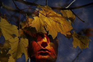 herfst gezicht