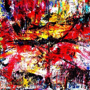 abstrakte Malerei T1  limitierte Auflage 1-100