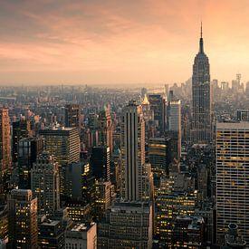 """"""" Il y a quelque chose dans l'air de New York qui rend le sommeil inutile"""" - Simone de Beauvoir. Le mélange de cultures  donne à la ville qui ne dort jamais un aspect fascinant et incomparable. Découvrez la ligne d'horizon de New York , le pont de Brooklyn ou la vie urbaine sur des peintures murales de haute qualité. Manhattan, Brooklyn, Queens, le Bronx ou encore Staten Island pour votre nouvelle décoration murale grâce à New-York."""