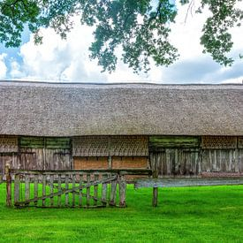 Hangar agricole Oud-Aalden avec mur Want sur R Smallenbroek
