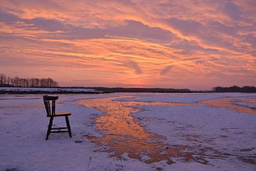 winterplaatje van klaas zijlstra