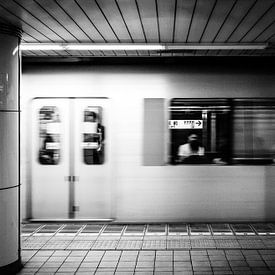 Tokyo Metro station van H Verdurmen