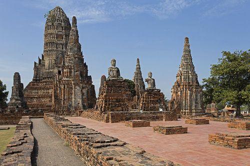 Wat Chai Watthanaram in Ayutthaya van Antwan Janssen