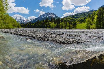 Stillachtal in de Allgäu regio van Walter G. Allgöwer