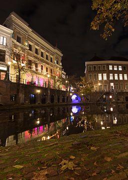 Herbst an der Oude Gracht von Daniel Van der Brug