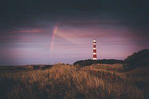Regenboog boven Ameland