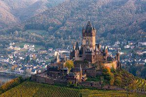 Een sprookjes kasteel in prachtig landschap  van