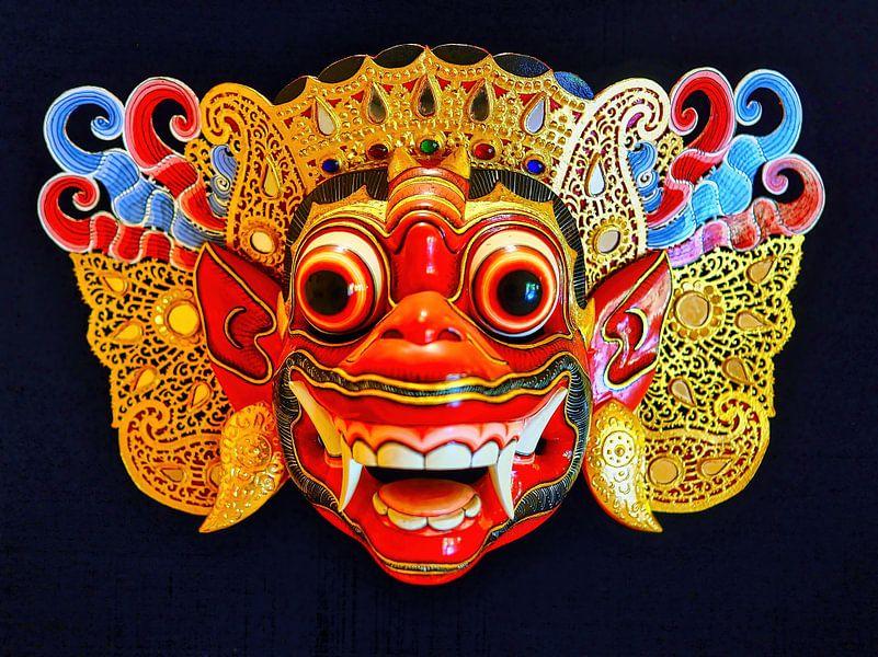 Barong Masker van Eduard Lamping