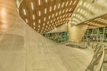Futuristischer Bahnhof von Rene Siebring
