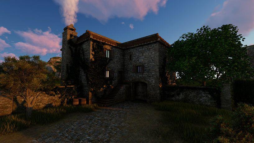 old landhouse 01a van H.m. Soetens