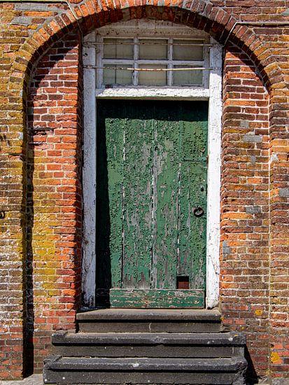 Oude deur. van Anjo ten Kate