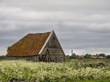 Schapenboet op Texel van Mooie Foto