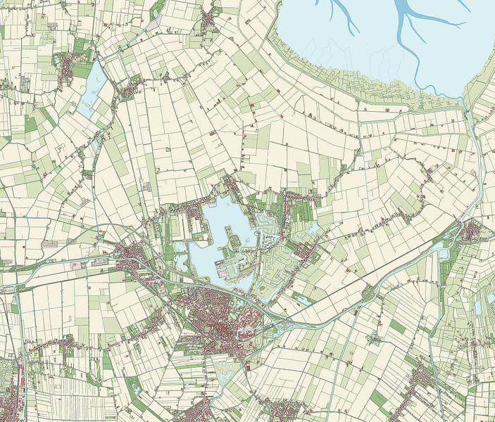 Kaart vanOldambt