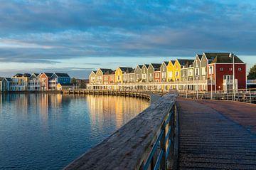 Kleurrijke Houtense huisjes sur Erwin van den Berg