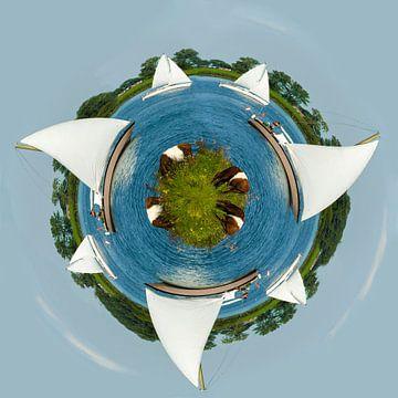 Kleine planeet Tiengemeten van Ans Bastiaanssen