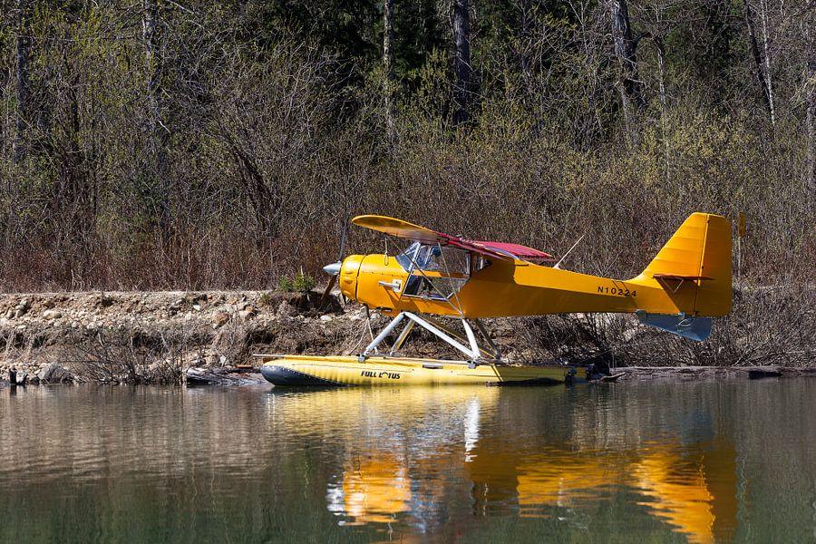 Watervliegtuig van Irene Hoekstra