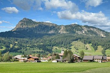 Tannheim in het Tannheimer Tal van Peter Eckert