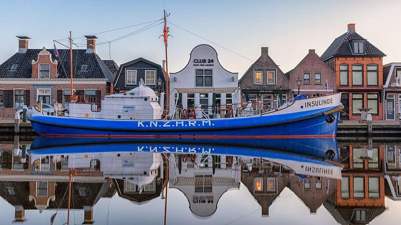 Historische reddingboot Insulinde van Roel Ovinge