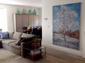 Kundenfoto: Der rosa Pfirsichbaum - Vincent van Gogh