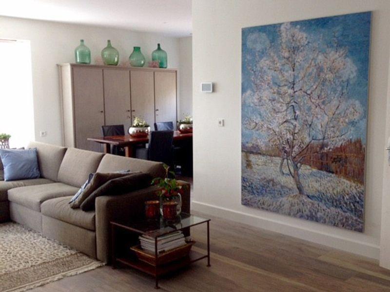 Kundenfoto: Der rosa Pfirsichbaum - Vincent van Gogh von 1000 Schilderijen