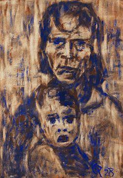 Mutter mit Kind, Christian Rohlfs, 1928