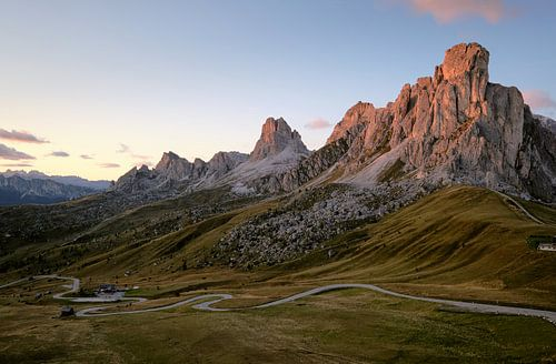 Sundown 2, Passo Giau, Dolomites