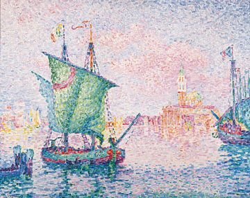 Venice, The Pink Cloud, Paul Signac