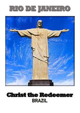 Rio de Janeiro & Christus Statue von