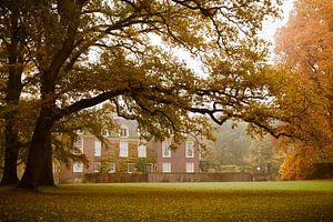 Kasteel de Wiersse in de herfst van