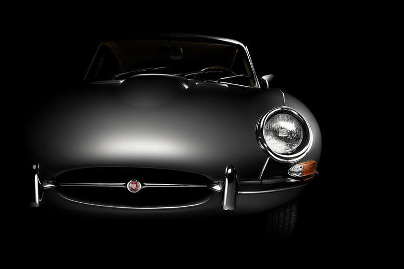 Jaguar E-Type 1963 van Thomas Boudewijn