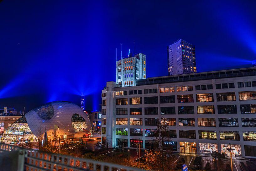 Eindhoven City by lights van Bas Fransen