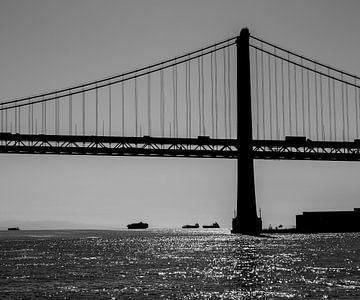 Pont de la baie de San Francisco-Oakland sur Peter Leenen
