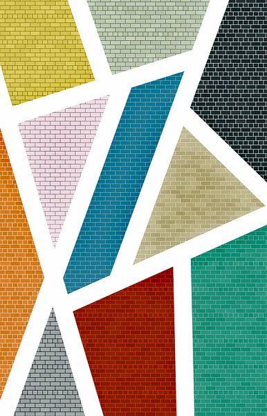 Stein Textur von Marion Tenbergen