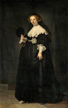 Oopjen Coppit van Rembrandt van Rijn van