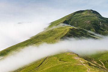 Glijdende wolken over de Pyreneeën van Kris Christiaens