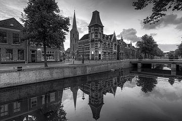Ehemaliges Gerichtsgebäude am Burgwal 29 in Kampen. von Fotografie Ronald
