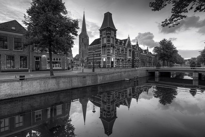 Voormalig gerechtsgebouw aan de Burgwal 29 te Kampen van Fotografie Ronald