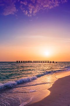 Gasparilla Island Sonnenuntergang von Melanie Viola
