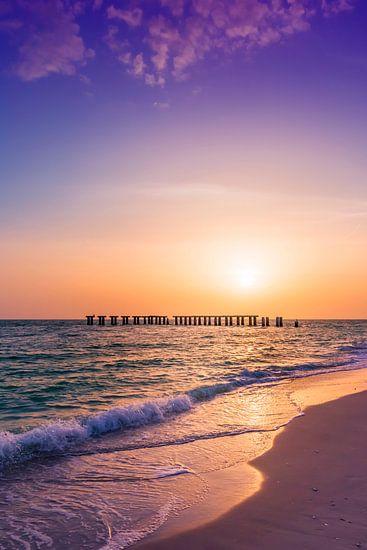 Gasparilla Island Sonnenuntergang