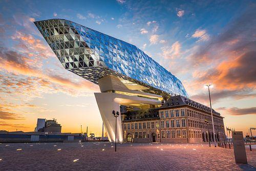 The spaceship has landed  (Haven van Antwerpen 10-06-2017)