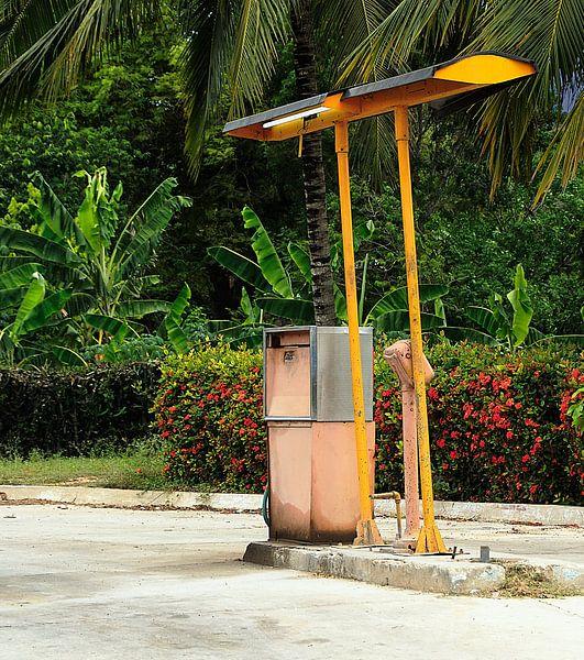 Cubaans Tankstation