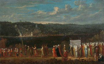 Türkische Hochzeit, Jean Baptiste Vanmour, um 1720 - um 1737