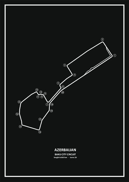 AZERBAIJAN GRAND PRIX   Formula 1 von Niels Jaeqx