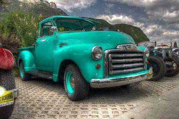 Chevrolet GMC Pickup-Lastwagen 1950 von Björn Leurs
