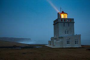 Lighthouse Dyrholaey on Island