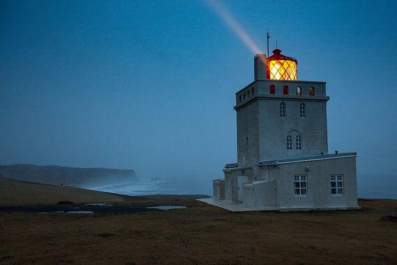 Leuchtturm Dyrholaey auf Island von Andreas Müller