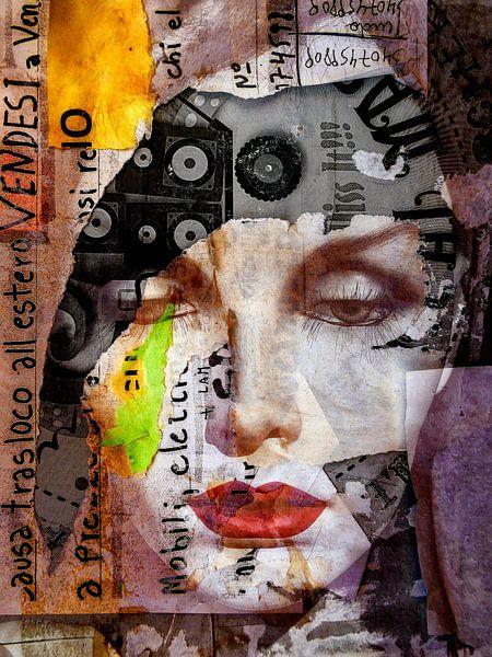 Red lips and chaos van Gabi Hampe