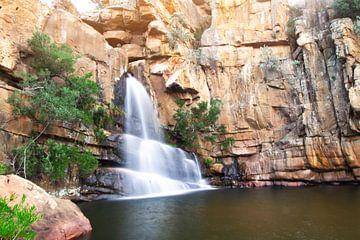 Cascade de la région de Cederberg Afrique du Sud sur Laura Slaa